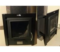 Skamet ILU-330, PT, ST ja STY seeria ahju uksele. Musta värvi