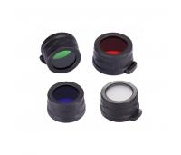 Nitecore valgusfilter 25,4mm peaga taskulampidele