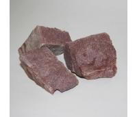 Kerisekivid puukerisele Punane Kvartsiit 20 KG – Ø70-150mm
