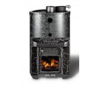 Saunaahi Harmonia Mini ümar (küttevõimsus 6-16 m3 / 16kW) kütmine teisest ruumist