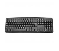 Klaviatuur Keyboard USB Black