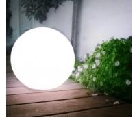 AIAVALGUSTI  SOLAR LED PALL 14x48cm. VALGE