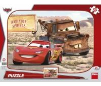 Dino suur plaatpuzzle Cars 12 tk