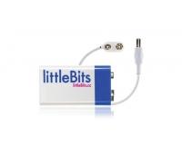 littleBits patarei + kaabel