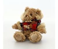 Keel Toys karu Hamish ruudulise jakiga 15 cm.