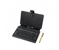 Universaalne ümbris 7-tollisele tahvelarvutitele koos mini-USB-klaviatuuriga