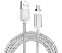 Micro USB kaabel hõbe magnetic.