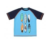 Laste T-särk, sinine, erinevad suurused