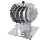 Turbo vent.Darco STANDART dm 150-300mm AL/ZN, mehaaniline, avatav