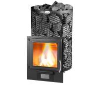 Skamet STY-220 GL, Pikendatud koldega suurema klaasuksega saunaahi 16-25 m³, (ümar võre) Erinevad valikud