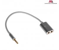 Adapter kaabel 3,5mm kõrvaklapid ja mikrofon