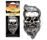 Õhuvärskendaja autosse. Aroma Car Dia De Los Muertos Oud&Pepper Skull