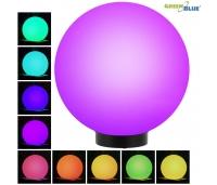 SOLAR LED PALL 25x25x58cm , Värviline