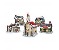 3D puzzle - Jõuluküla
