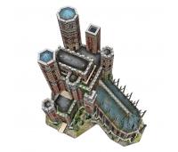 3D puzzle - Troonide mäng - The Red Keep - 845 tükki