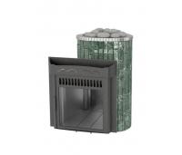 Saunaahi Optima (küttevõimsus 8-23 m3/ 20kW) kütmine teisest ruumist